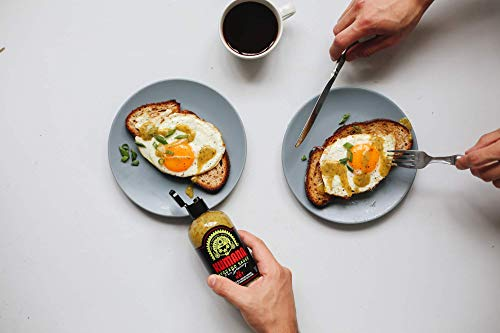 Kumana Avocado Hot Sauce. A Keto Friendly Hot Sauce made with Ripe Avocados, Mango and Habanero Peppers. Ketogenic & Paleo. Gluten Free, No Added Sugar & Low Carb. 13.1 Ounce Bottle. 7
