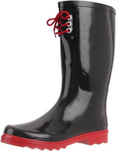 Up Lace Solid Black Women's 3 Eye Western Red Chief fqXEOxwwY