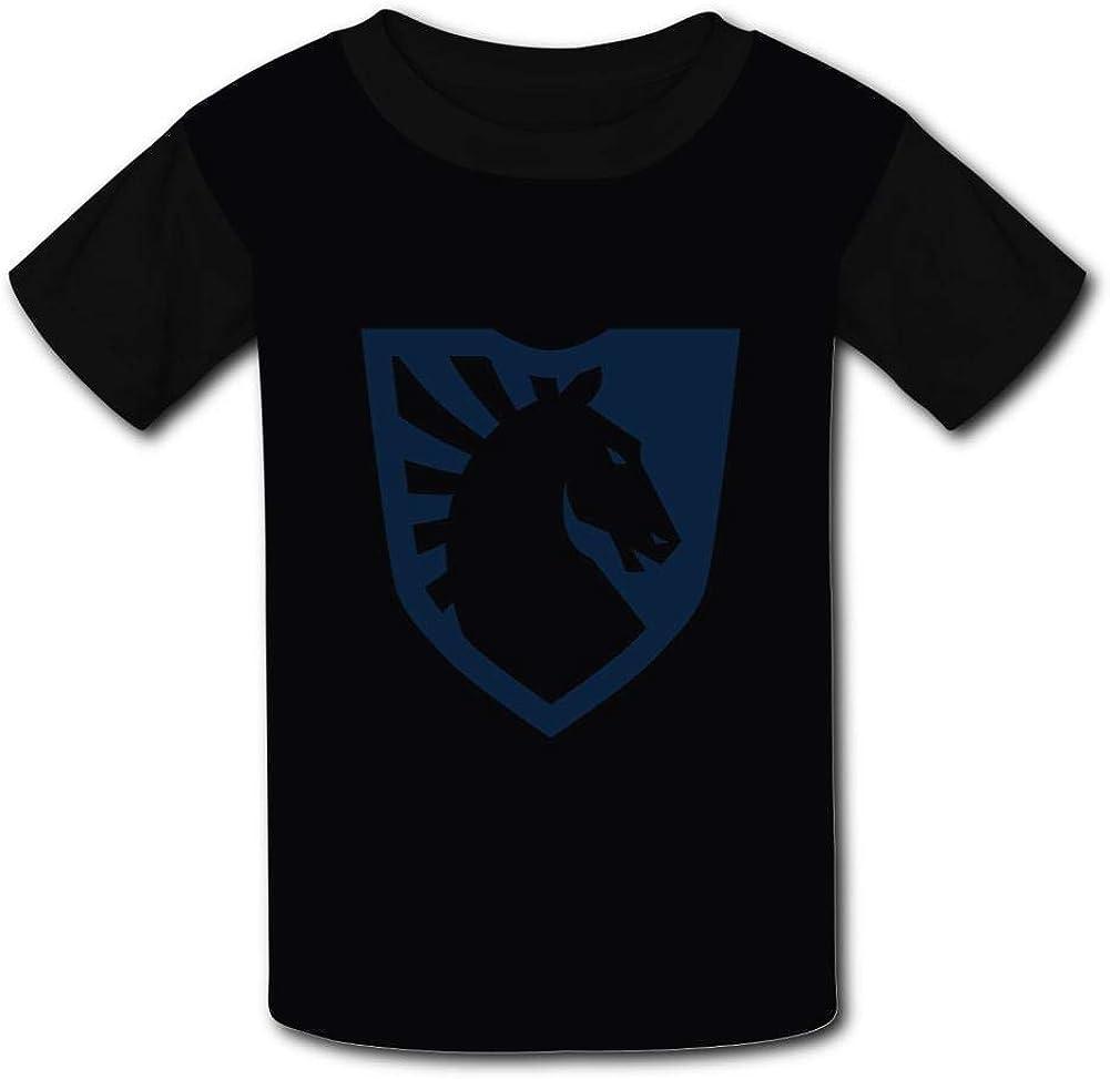 NNaseg Kids Casual Tee T-eam L-iquid Logo 3D Print Graphics T-Shirt for Boys Girls