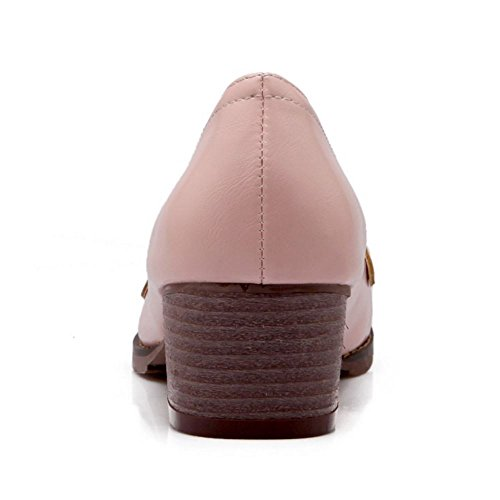 Clasico Mujer Brogue Zapatos Pink Zanpa CAqw4R8nwx