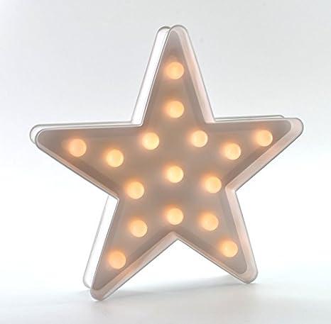 Stella Luminosa Di Natale.Stella Di Natale Dekostern Stella Luminosa Stella 24 Cm Bianco Led