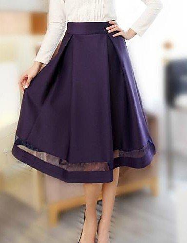 GSP-Frauen koreanische Rüsche dünnen Röcke (weitere Farben)