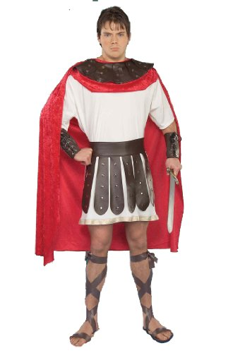 Marc Antony Costume (Forum Marc Antony Complete Adult Costume, Brown/Red, Standard)