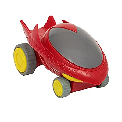 Just Play PJMask Rev N Rumblers Owl Glider Vehicle, Red: Toys & Games