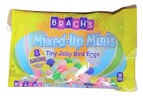 Mini Jelly Bean - Brach's Mixed-Up Minis Tiny Jelly Bird Eggs Jelly Beans (Pack of 2)