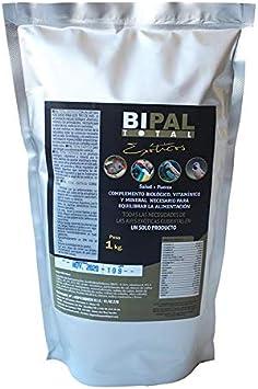 BiPal Total Exóticos 1kg (Grit con vitaminas, minerales y aminoácidos) para pájaros exóticos