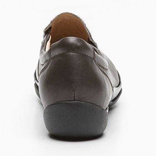Confortable Pour En Chaussure Femme Zerimar Ete Marron Cuir nAqCWHct1
