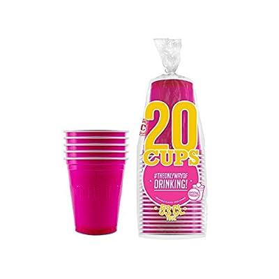 Aptafêtes EM554 - Pack de 20 Gobelets Original Cup Plastique - 53 cl
