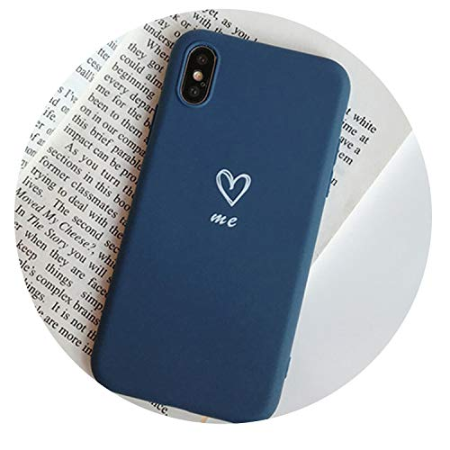 oft TPU Phone Case for iPhone 7 Plus 6 6S 7 8 Cute Wine Red Back Cover for iPhone X XR XS XS Max Fundas,Style 3,for iPhone 8 ()