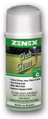Zenex Club Clean Foamingゴルフ機器クリーナー – 3 oz Can B003GEY2F6