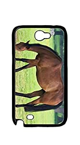 TUTU158600 Design Hard Customized case Of case for samsung galaxy note 2 active - Mother Mustang Horse