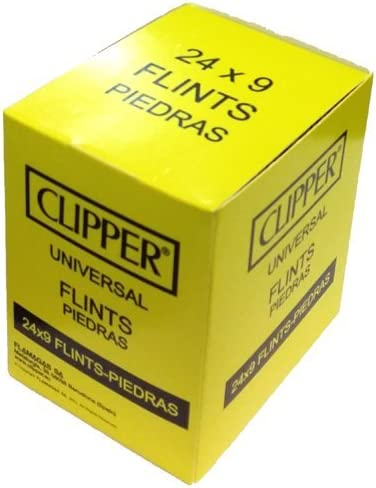 Clipper Universal Flints Piedras 24 x 9 Per Pack by Clipper ...