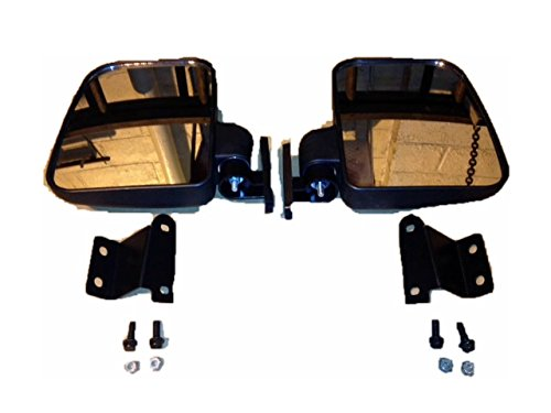 Polaris Ranger Folding Mirror Set for PRO-FIT Cages by Extreme Metal Products LLC (Image #3)