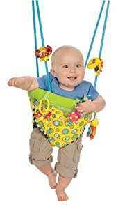 Sassy Seat Doorway Jumper, 3 Toys (Discontinued by Manufacturer)