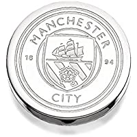 Manchester City F.C. Mens Gents Jewellery Stainless Steel Crest Single Earring