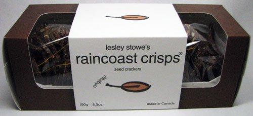 Lesley Stowe's Raincoast Crisps Original Seed Crackers 15...