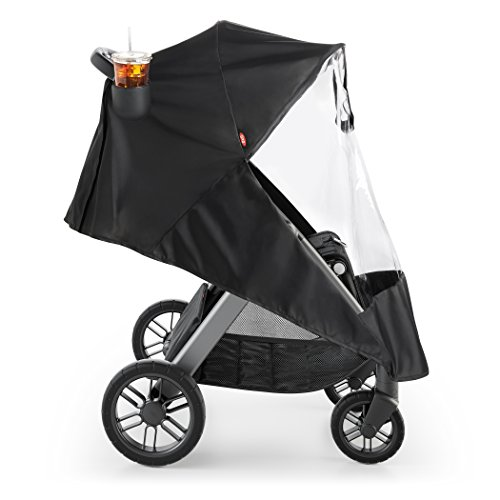 OXO Tot Cubby Plus Stroller, Charcoal with Cup Holder and...