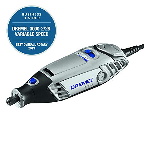 Dremel 3000-2/28 Variable Speed Rotary Tool Kit- 2 Attachments &