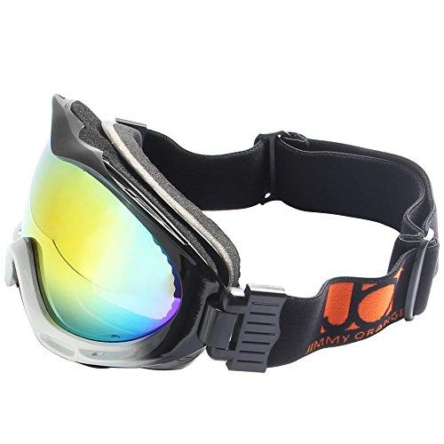 JO Polarized Mens Womens Designer Sports Glasses Anti-fog Ski Goggles JOHXJ (black, - Online Can Order I Prescription Sunglasses