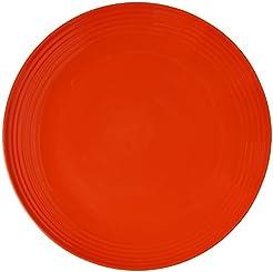 Melange 6-Piece Melamine Dinner Plate Set (Solids Collection ) | Shatter-Proof  sc 1 st  Amazon.com & Amazon.com: Commercial Grade - Dinner Plates / Plates: Home u0026 Kitchen