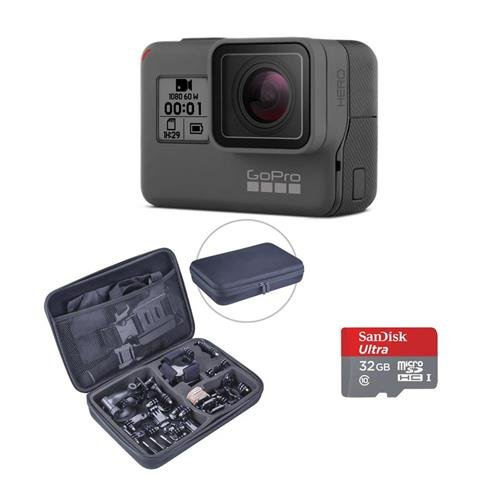 Gopro Hero Camera  2018    Bundle With Froggi Extreme Sport Kit  And 32Gb Micro Sdhc Memory Card