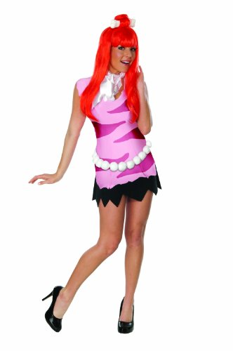 Secret Wishes  Adult Flintstones Pebbles Costume, Pink, Large]()