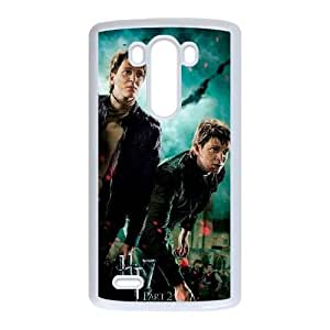 Deathly Hallows LG G3 Cell Phone Case White DAVID-178506