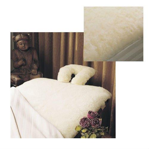 QBC Bundled SnugFleece SnugSoft Elite Massage Table Size 30 x 73 in. - Plus Free QBC eGuide, The Power of Wool