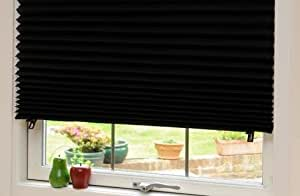 Affordable Instant Temporary Paper Blinds (Semi Permanent) 91cm x 182cm Black Out, Original Redi Shade Blind, Provides Instant Security, Privacy & Style, Just Peel & Stick, No Tools Required. by Redi Shade
