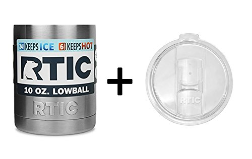 RTIC Stainless Lowball Splash Resistant