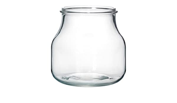 Ikea Ensidig Vase Clear Glass 16 Cm Amazon Home Kitchen