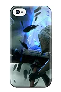 iPhone 6 plus 5.5 Case Cover - Slim Fit Tpu Protector Shock Absorbent Case (final Fantasy)