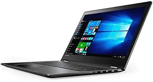 2017 Newest Lenovo Flex 4 2-in-1 Convertible Flagship High Performance 14 inch Full HD Touchscreen Laptop PC, Intel Core i7-6500U Dual-Core, 16GB DDR4, 256GB SSD, Bluetooth, WIFI, Windows 10, Black