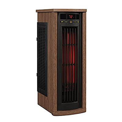 Duraflame Portable Electric Infrared Quartz Oscillating Tower Heater