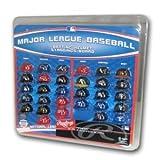 Major League Baseball Helmet Standings Board Clear