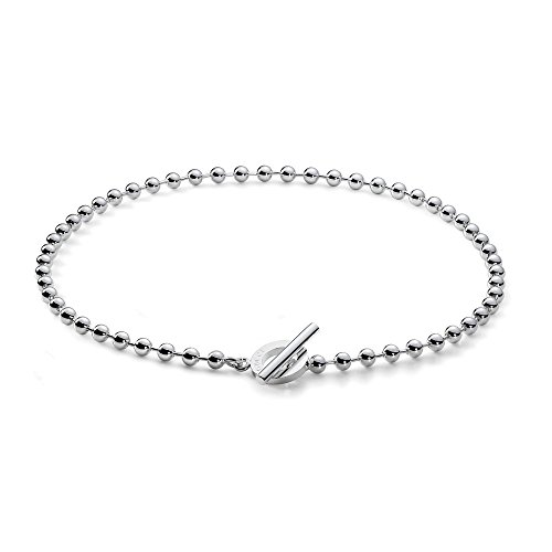 (Gucci Women's Extra-Large Boule Necklace Silver)