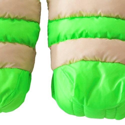 7A.M. ENFANT WARMMUFFS stroller Handomafu HM212b Beige / Neon Green
