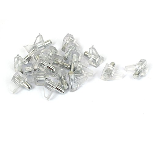 uxcell 5mm Dia Support Peg Stud Pins 20 Pcs for Kitchen Shelf Cupboard Cabinet