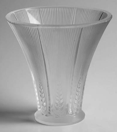 ラリック 花瓶 エピス Epis フラワーベース 一輪挿し 小麦 クリスタル [並行輸入品] B01B7AGYHO