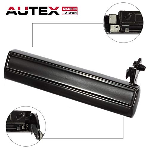 Left Driver Side Door Handle Compatible with 82 83 84 85 86 87 88 89 90 1991 1992 1993 1994 Chevrolet Pontiac Oldsmobile Buick Cadillac Cimarron 15969376 20260759 77112 ()