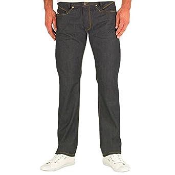 "3497d253 Mens Diesel Iakop Reg Slim Fit Jeans 0088Z Blue Guys Gents (31x32 Waist  31"""
