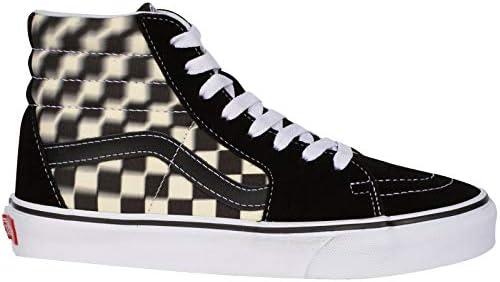 Vans UA SK8 Hi, Men's Shoes, Black ((Blur Check) black