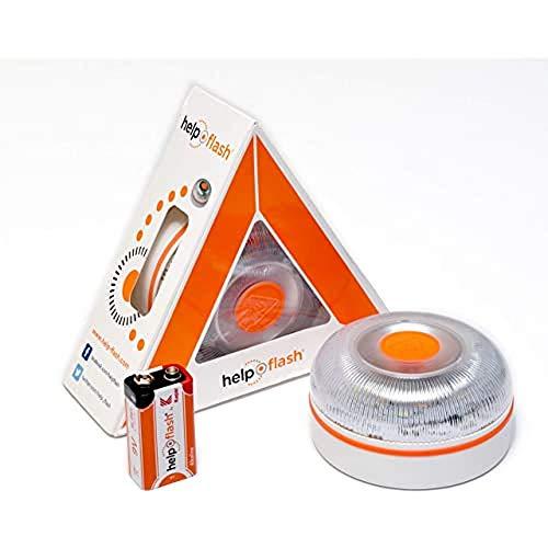 HELP FLASH HF_BOTON 2.0 noodlicht, autonoom signaal, V16, gevarentoelating, goedgekeurd door de DGT