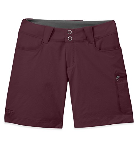 Outdoor Research Women's Ferrosi Summit 7'' Shorts, Pinot, 2 by Outdoor Research