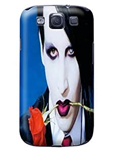 cool 3d movie stars tpu case/cover/shell for Samsung Galaxy s3 of Marilyn Manson in Fashion E-Mall
