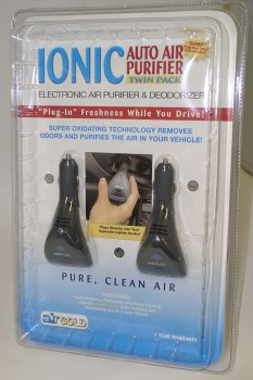 Auto Air Purifier, Ionic Twin Pack