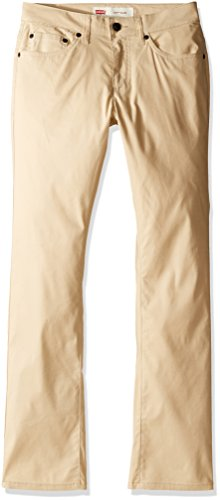 Levi's Boys' Big' Slim Fit Adventure Pants, Pale Khaki, 16