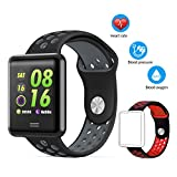 AK1980 Fitness Watch, IP68 Waterproof Activity Tracker Smart Watch with Heart Rate Monitor