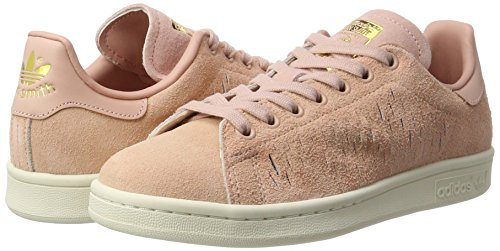 haze Stan Sneakers Smith haze Basses chalk Adidas Coral White Rose Coral Femme Uwxqff8