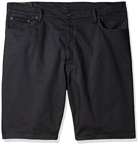 Levi's Men's Big and Tall 569 Loose Straight Denim Short, Smokey Mountain-Stretch, 48 (Jean 569 Shorts Loose Straight)